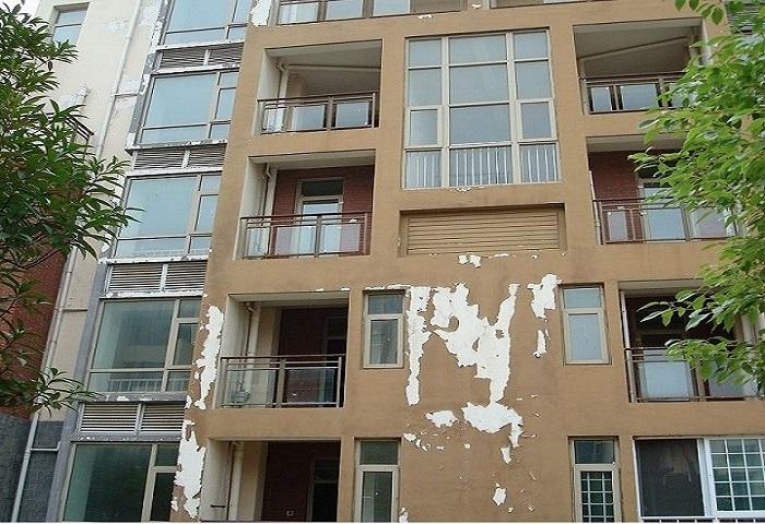 别墅外墙油漆画